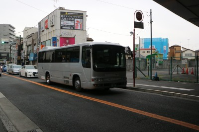 武蔵小杉新駅前から発着する送迎バス