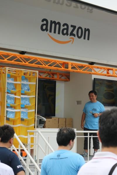 川崎フロンターレの2019スポンサーとなったAmazonがホームゲームイベントに登場