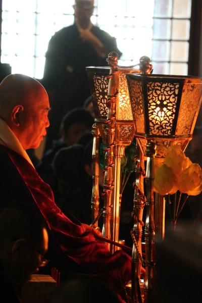 川崎大師での護摩祈祷
