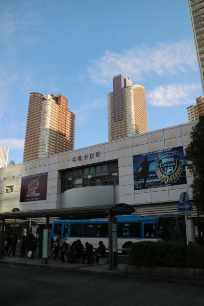 JR武蔵小杉駅北口駅舎の両クラブのビジュアル