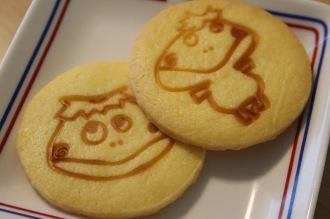 「しいの実」手作り「ニカッパ君クッキー」