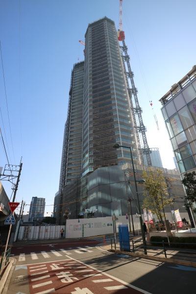 工事が進みKosugi 3rd Avenue