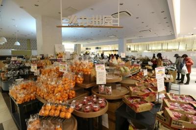 1階の食品ゾーン「小杉マルシェ」