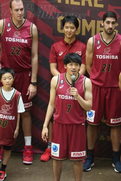 実際の篠山竜青選手