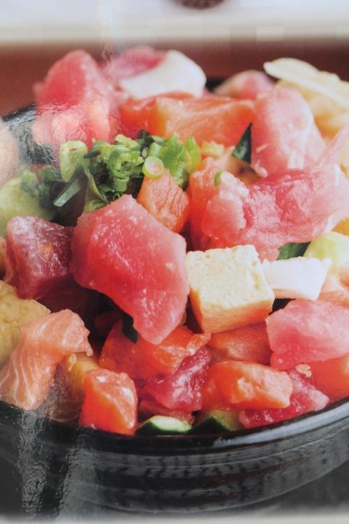 海鮮びっくり丼