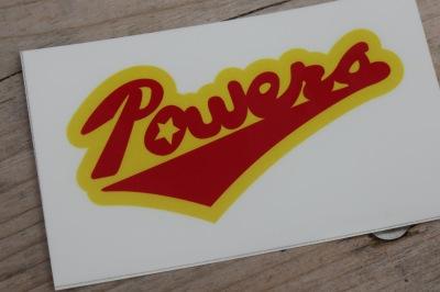 お弁当についていた「Powers」のロゴ