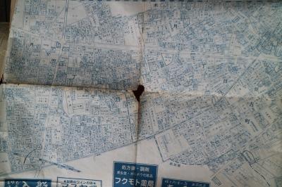 元住吉周辺の古い地図