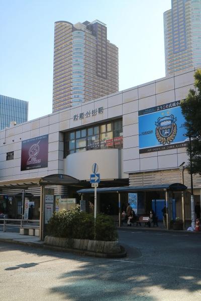 武蔵小杉駅北口ロータリー