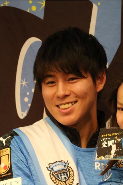 優しい笑顔の脇坂選手