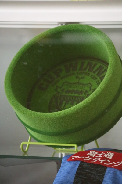 「2019FUJI XEROX SUPER CUP」の風呂桶