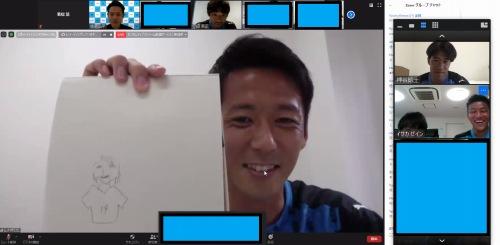 1回目トークショー「中村憲剛選手を描こう!」