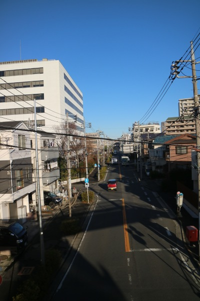 第二敷地前の道路