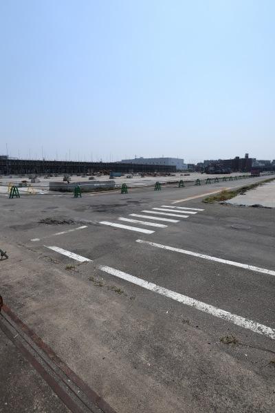解体が進む「三菱ふそう川崎工場第二敷地」