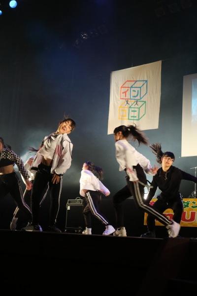 昨年出演「大西学園高校ダンス部」