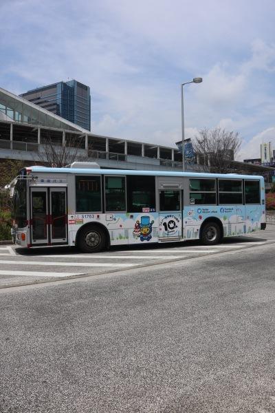 コムゾー10周年記念バス