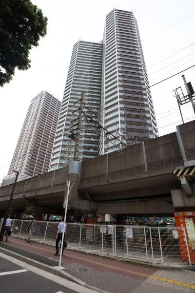 今回専用区画が用意される「Parking in 武蔵小杉駅前第2駐輪場」