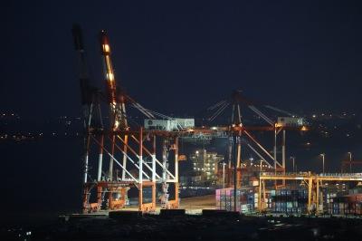 川崎マリエンからの工場・港湾夜景