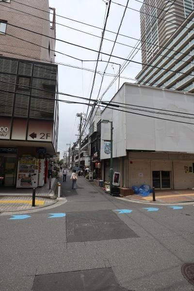 イトーヨーカドー武蔵小杉駅前店から見た
