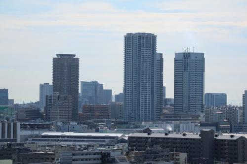 新川崎高層ビル群