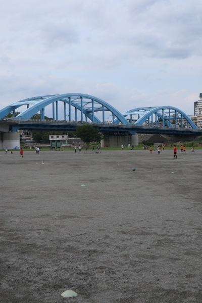 供用開始になった丸子橋第1グラウンド