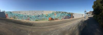 壁画のパノラマ