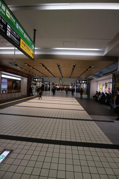 東急武蔵小杉駅のコンコース