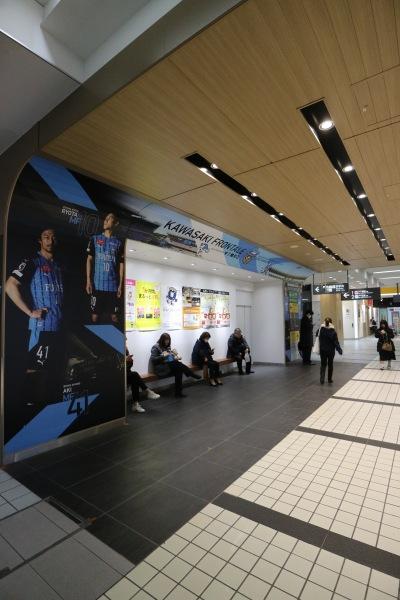 ベンチ側・川崎フロンターレの広報ビジュアル