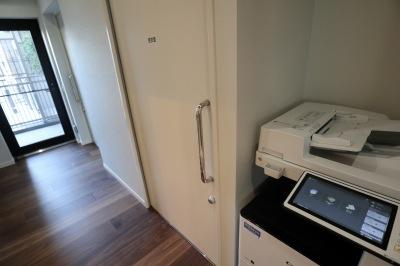 コピー機と更衣室
