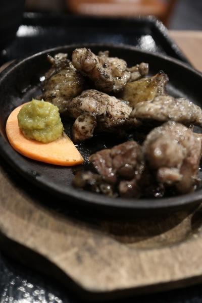 宮崎地頭鶏の炭火焼定食